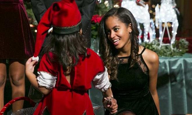 Sasha y Malia Obama (4)