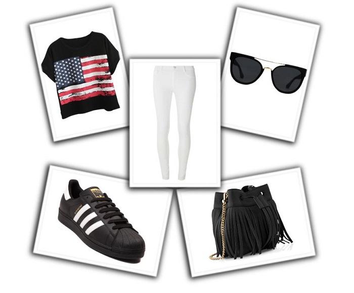 cómo combinar pantalones blancos (1)