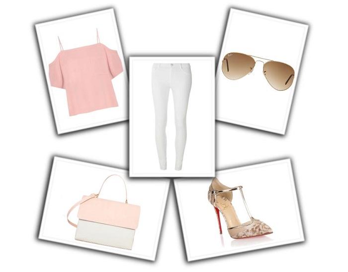 cómo combinar pantalones blancos (3)