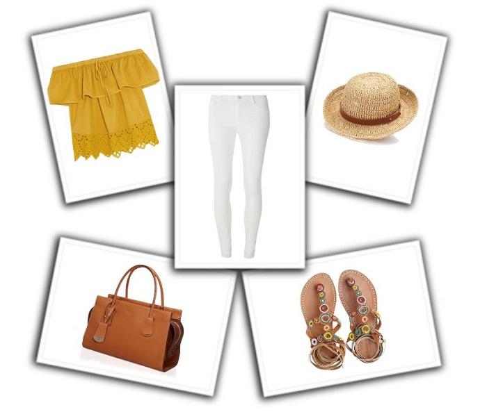 cómo combinar pantalones blancos (5)