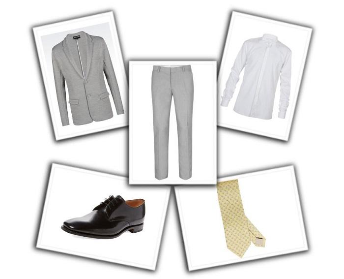 camisa y corbata para traje gris (5)