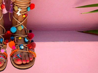 Nuestro top 10 de sandalias con pompones