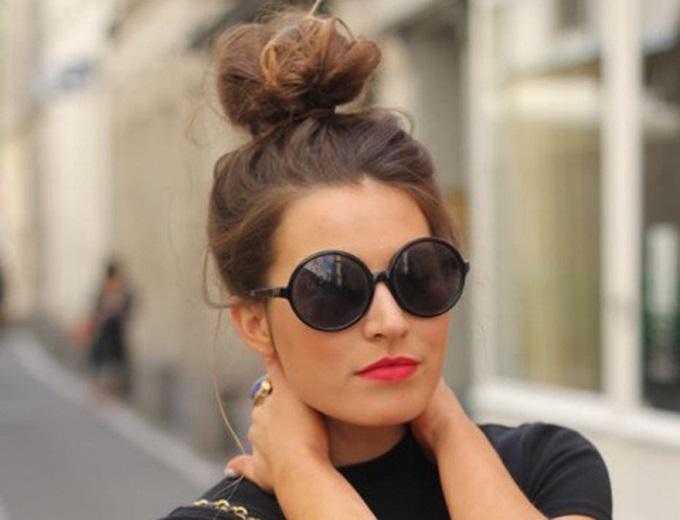 cómo usar gafas de sol redondas
