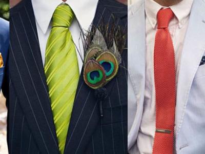 Cómo combinar corbatas