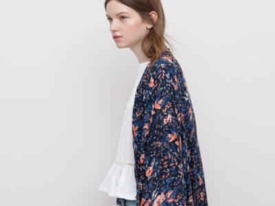 Cómo combinar un kimono corto